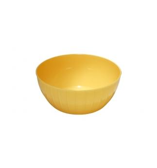 Mísa plastová DELÍCIA 28 cm, 5.0L, žlutá