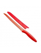 Antiadhezní nůž na chléb PRESTO TONE 20 cm, červená