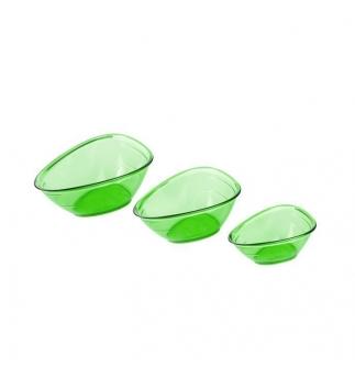 Odměrky nálevky tescoma PRESTO, 3ks, zelená