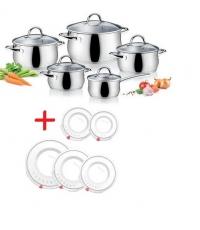 Sada nádobí VIVA, 10 dílů