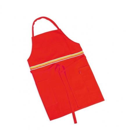 Kuchyňská zástěra PRESTO TONE, červená