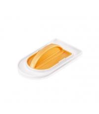 Hladítko DELÍCIA DECO, dvoudílné, žlutá