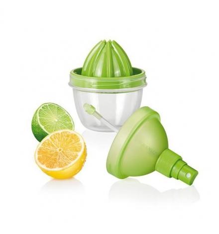 Rozprašovač na citrusovou šťávu VITAMINO, zelená