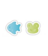Univerzální vykrajovátka DELÍCIA KIDS, rybička a žabka
