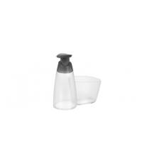 Dávkovač saponátu CLEAN KIT 350 ml, s místem pro houbičku