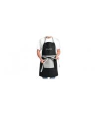 Kuchyňská zástěra GrandCHEF, černá