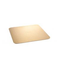 Podnos na dort DELÍCIA 30x30 cm, zlatý, 2 ks