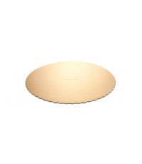 Podnos na dort DELÍCIA pr. 30 cm, zlatý, 2 ks