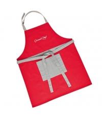 Kuchyňská zástěra GrandCHEF, červená