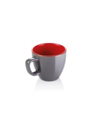 Šálek na espresso CREMA SHINE, šedá