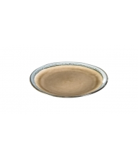 Dezertní talíř EMOTION pr. 20 cm, hnědá