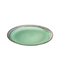 Mělký talíř EMOTION pr. 26 cm, zelená