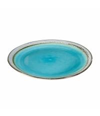 Mělký talíř EMOTION pr. 26 cm, modrá