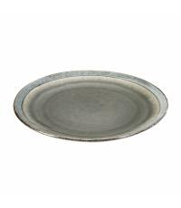 Mělký talíř EMOTION pr. 26 cm, šedá