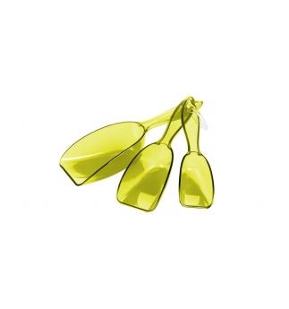 Lopatky PRESTO, 3 ks, žlutá