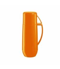 Termoska s hrníčkem FAMILY COLORI 0.75 l, oranžová