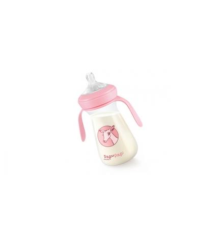 Láhev PAPU PAPI 250 ml, růžová