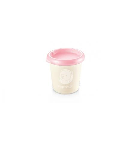 Dóza PAPU PAPI 200 ml, 2 ks, růžová