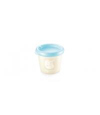 Dóza PAPU PAPI 150 ml, 2 ks, modrá