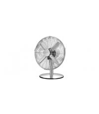 Stolní ventilátor FANCY HOME pr. 30 cm, chrom