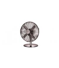 Stolní ventilátor FANCY HOME pr. 30 cm, antracit