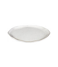 Mělký talíř CHARMANT pr. 26 cm, bílá