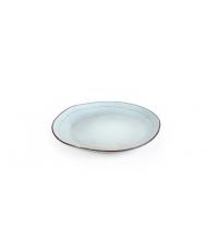 Dezertní talíř JACQUARD pr. 20 cm, modrá