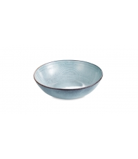 Hluboký talíř JACQUARD pr. 17 cm, modrá