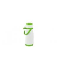 Termoska s pumpičkou FAMILY COLORI 1.7 l, zelená