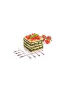 Formičky pro tvarování pokrmů PRESTO FoodStyle, čtverce, 3 ks