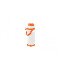 Termoska s pumpičkou FAMILY COLORI 1.7 l, oranžová