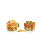 Formičky pro tvarování pokrmů PRESTO FoodStyle, květiny, 2 ks