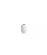 Váza FANCY HOME Stones 11 cm, bílá