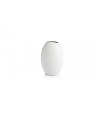Váza FANCY HOME Stones 23 cm, bílá