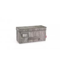 Krabice na oděvy FANCY HOME 40 x 18 x 20 cm, cappuccino