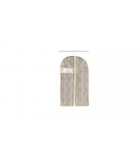 Obal na oblek FANCY HOME 100 x 60 cm, smetanová