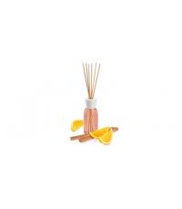 Vonný difuzér FANCY HOME 120 ml, Pomeranč a skořice