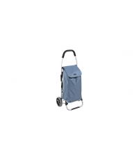 Nákupní taška na kolečkách SHOP!, modrá