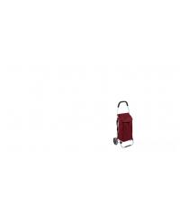 Nákupní taška na kolečkách SHOP!, červená