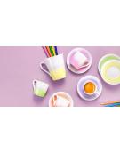 Hrnek myCOFFEE, 4 ks, Pastels