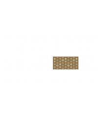 Vánoční balicí papír 70x100cm zlatý