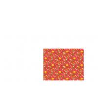 Vánoční balicí papír 70x100cm červený