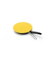 Ochranné síto FUSION pr. 28 cm, světle žlutá