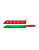 Ant.nůž na v.meloun PRESTO TONE 30cm, červená