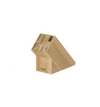Blok TESCOMA WOODY, pro 6 nožů a nůžky / ocílku