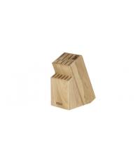 Blok WOODY, pro 13 nožů a nůžky / ocílku