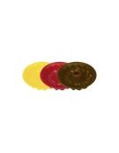 Bábovka nízká DELÍCIA SILICONE pr. 26 cm, červená