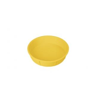 Forma na dort DELÍCIA SILICONE pr. 28 cm, žlutá