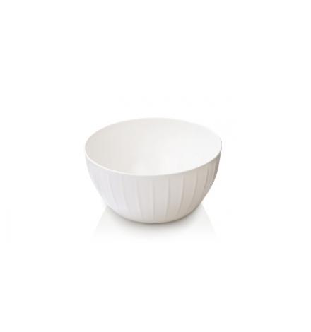 Mísa plastová DELÍCIA pr. 18 cm, 1.5 l, bílá
