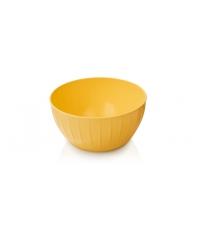 Mísa plastová DELÍCIA pr. 22 cm, 2.5 l, žlutá